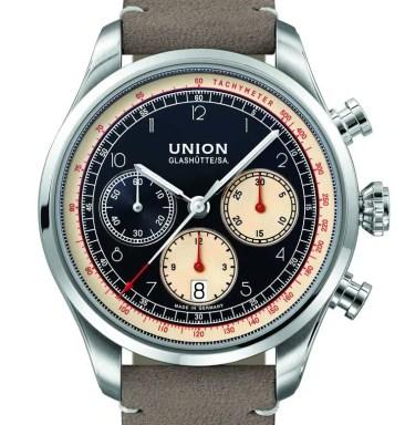 Union Glashütte Belisar Chronograph: moderne Technik im Retro-Look