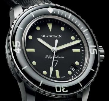 Blancpain Fifty Fathoms Nageurs de combat limited Edition