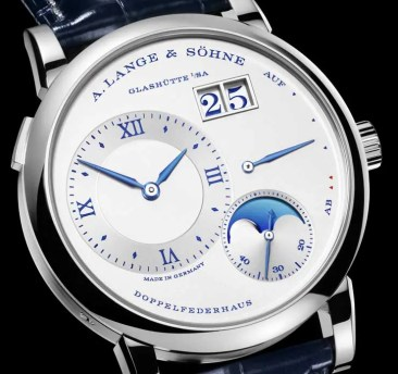 Lange 1 Mondphase 25th Anniversary: auf 25 limitierte Edition in Weißgold