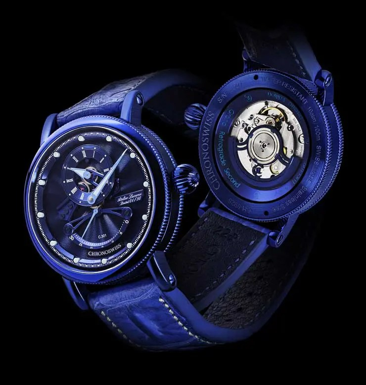 Limited Edition Electric Blue