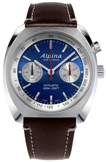 Alpina Startimer Pilot Heritage Chrongraph