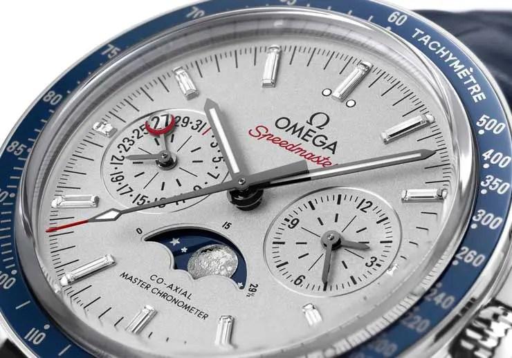Omega Speedmaster Platinum Mondphase Master Chronometer