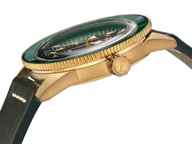 Neues Bronze-Modell in satten Grün- und erdigen Bronzetönen