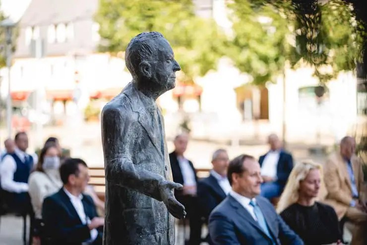 Ein Denkmal für Walter Lange
