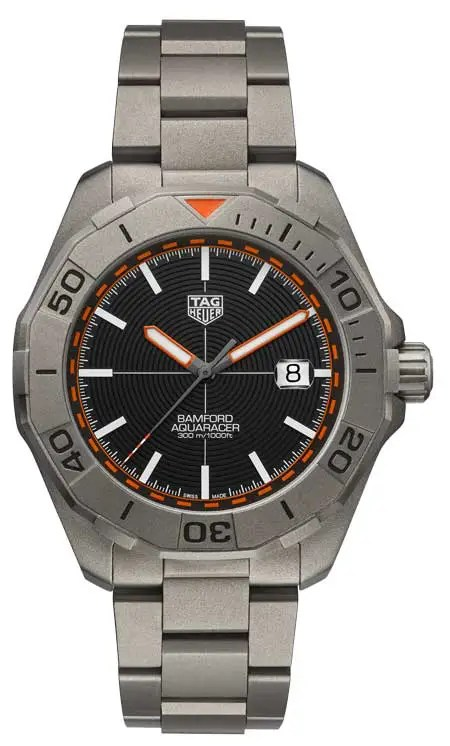 TAG Heuer Aquaracer Bamford Limited Edition ist
