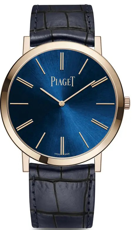 Piaget Altiplano Blue limited Edition