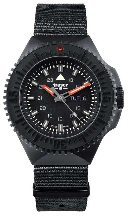 450.black Ref. 109854 P69 traser Black Stealth, Schwarz