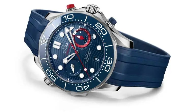 740.2Omega Seamaster Diver 300M America's Cup Chronograph