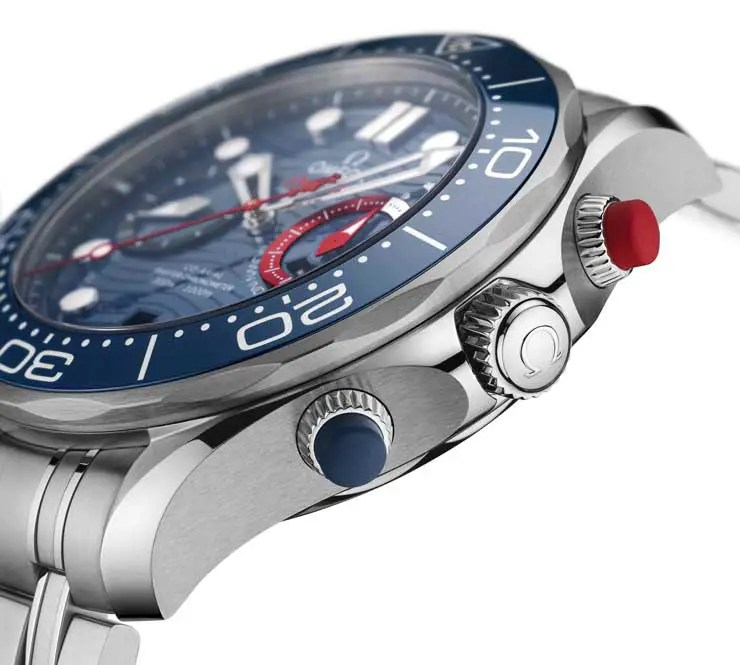 740.3 Omega Seamaster Diver 300M America's Cup Chronograph