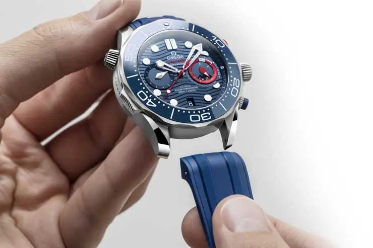 740.7 Omega Seamaster Diver 300M America's Cup Chronograph