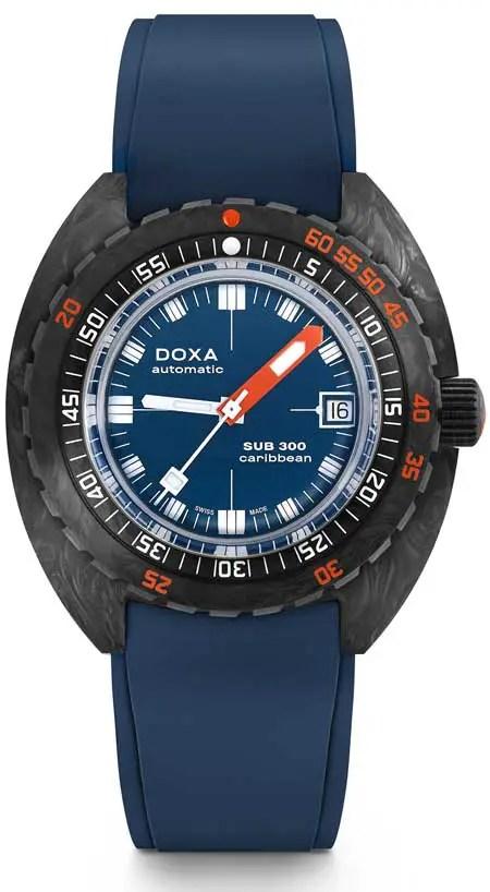 450 carribean blue doxa sub