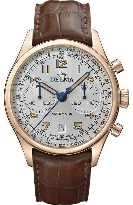 450.3 Delma Heritage Chronograph LE