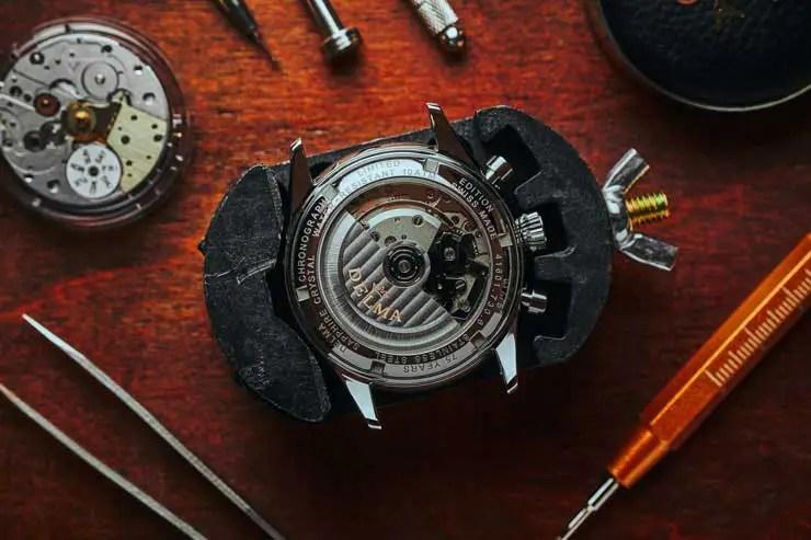 740.3Delma Heritage Chronograph LE
