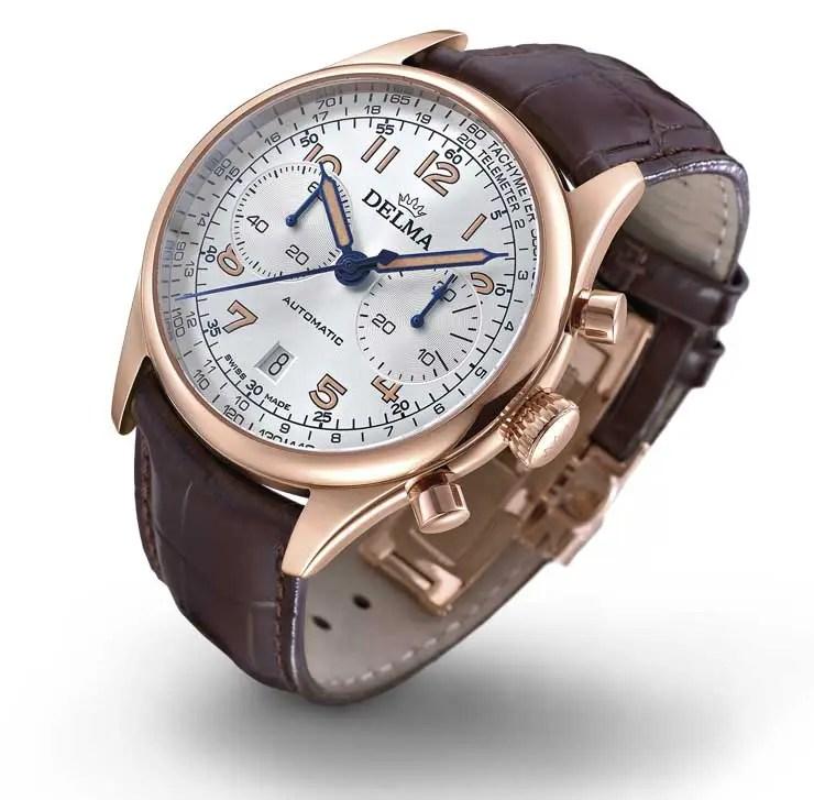 740.Delma Heritage Chronograph LE