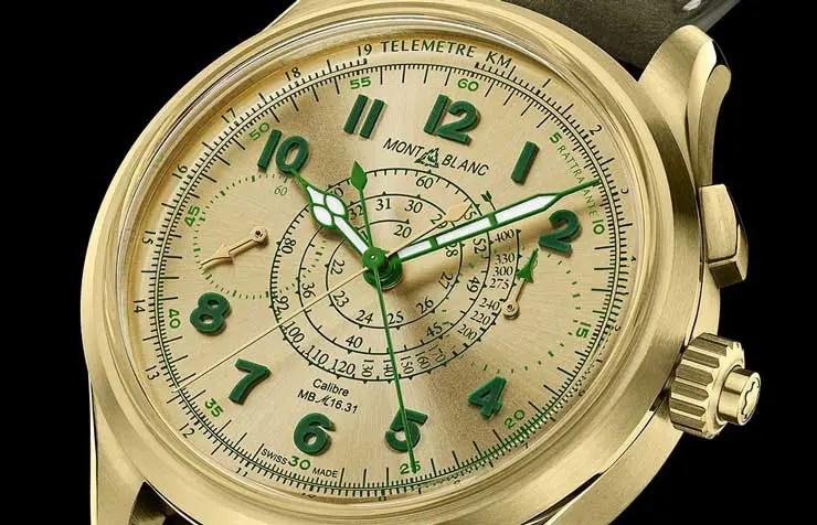 740zbdet2 Montblanc 1858 Split Second Chronograph Limited Edition