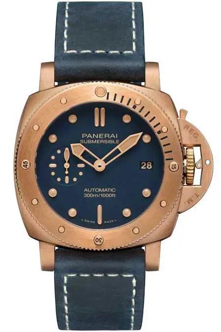 450.2.vs Panerai Submersible Bronze Blu Abisso