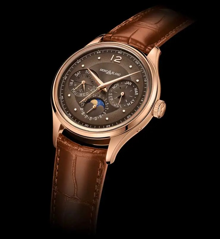 740.2Montblanc Heritage Manufacture Perpetual Calendar Limited Edition 100