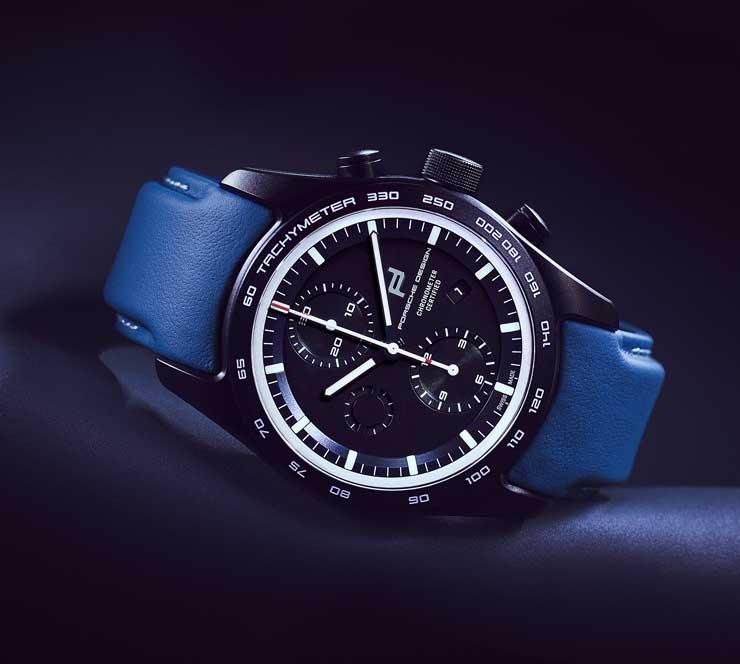 740.2 Porsche Design custom-built Timepiece für Hans-Joachim Stuck