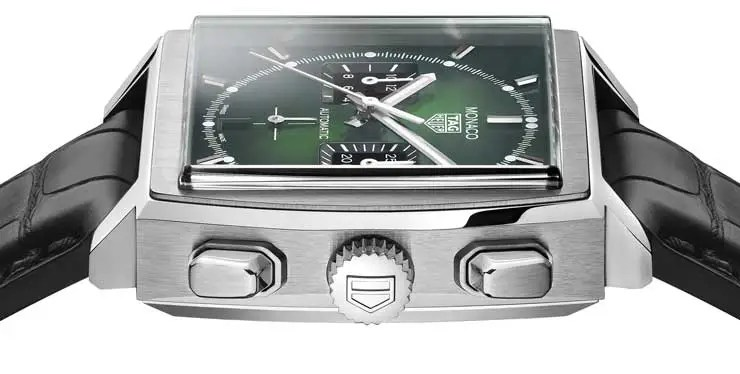 740.3 Tag Heuer Monaco Green Dial