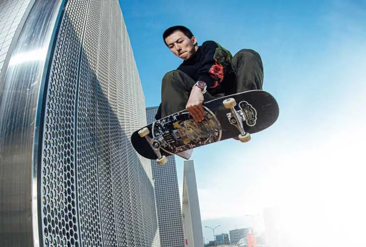 740 Seiko 5 Sports x Evisen Skateboards