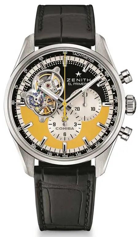 450vDie Zenith Chronomaster Open Cohiba 55th Anniversary