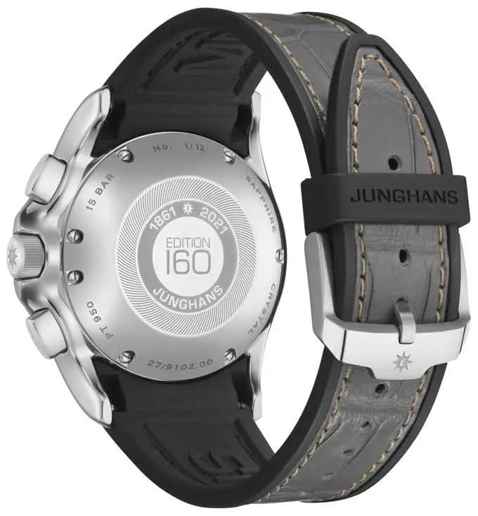 680.Junghans Meister S Chronoscope Platin Edition 160