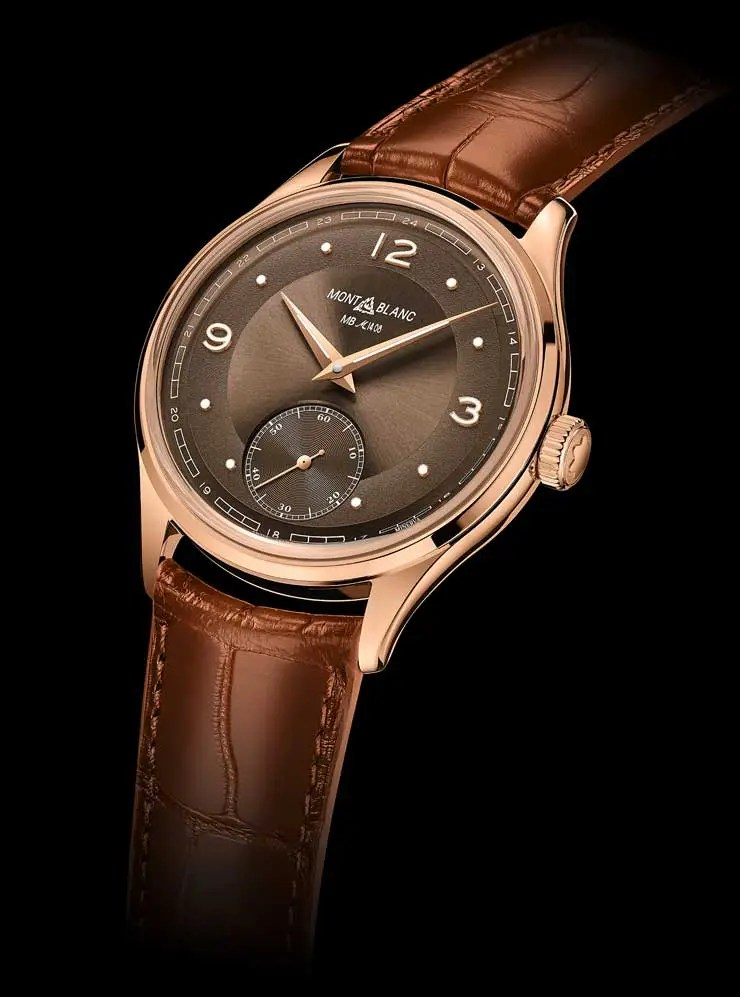 740.2 Montblanc Heritage Pythagore Small Second Limited Edition 148