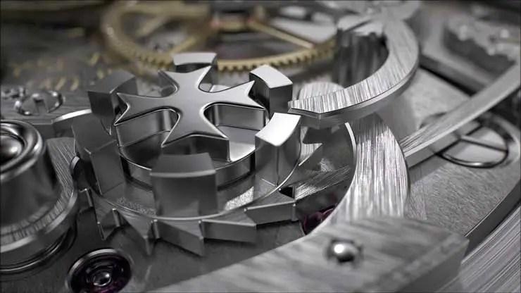 740.9 Vacheron Constantin Traditionnelle Schleppzeiger-Chronograph extra-flach