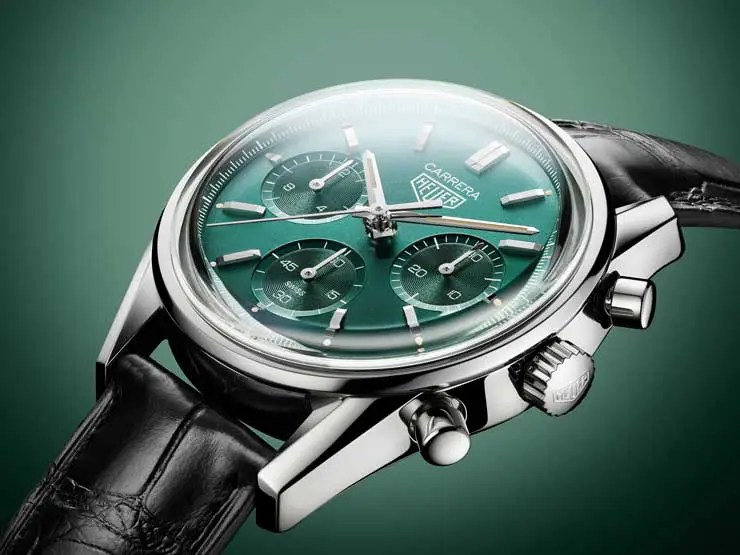 740TAG Heuer Carrera Green limited Edition