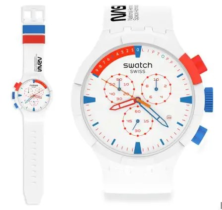 mood 1 Swatch Big Bold Chrono Extravehicular