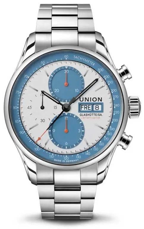450.1 union glashütte Viro Chronograph Silvretta Classics