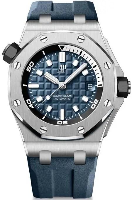 450.blau Royal Oak Offshore Diver