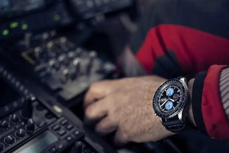 740.2 Khaki Aviation Converter Auto Chrono Air Zermatt
