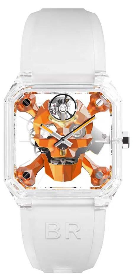 450.1 Bell & Ross Cyber Skull Sapphire Only Watch