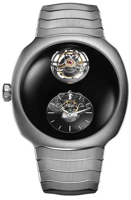 450.H.Moser & Cie Streamliner Cylindrical Tourbillon Only Watch