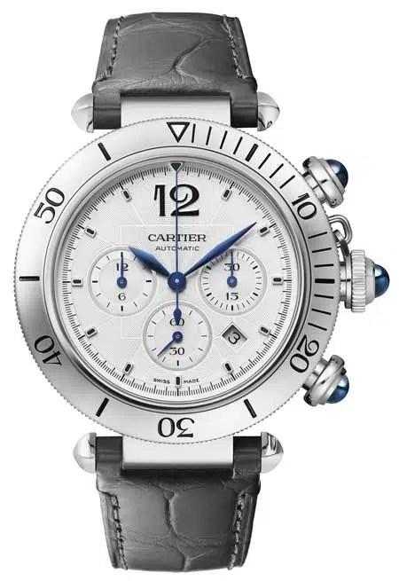 450 Pasha de Cartier Chronograph