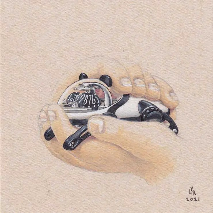 740.1MB&F HM10 Panda for Only Watch