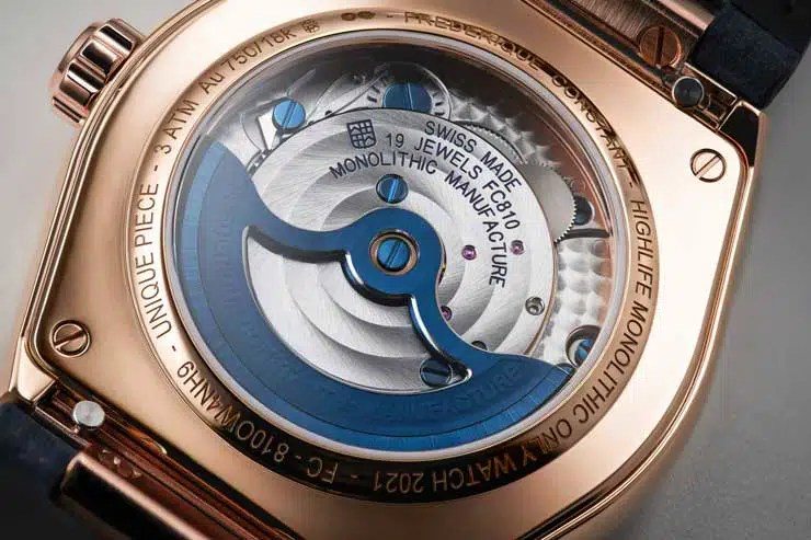 740.2 2021 Frederique Constant Highlife Monolithic Manufacture Only Watch