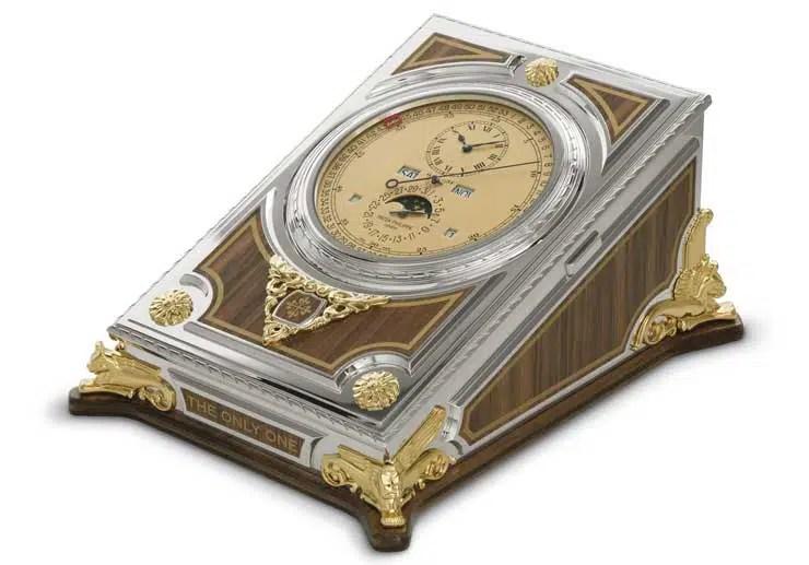 740.5 Patek Philippe Komplizierte Tischuhr für ONLY WATCH
