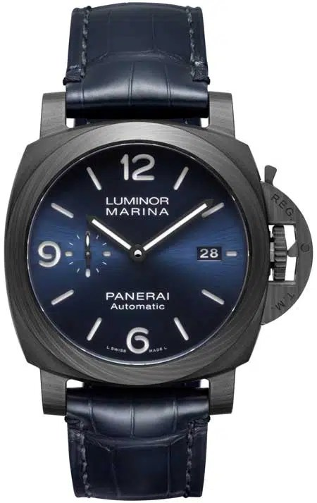 450.1 pam1664 Panerai Luminor Marina Carbotech Blu Notte