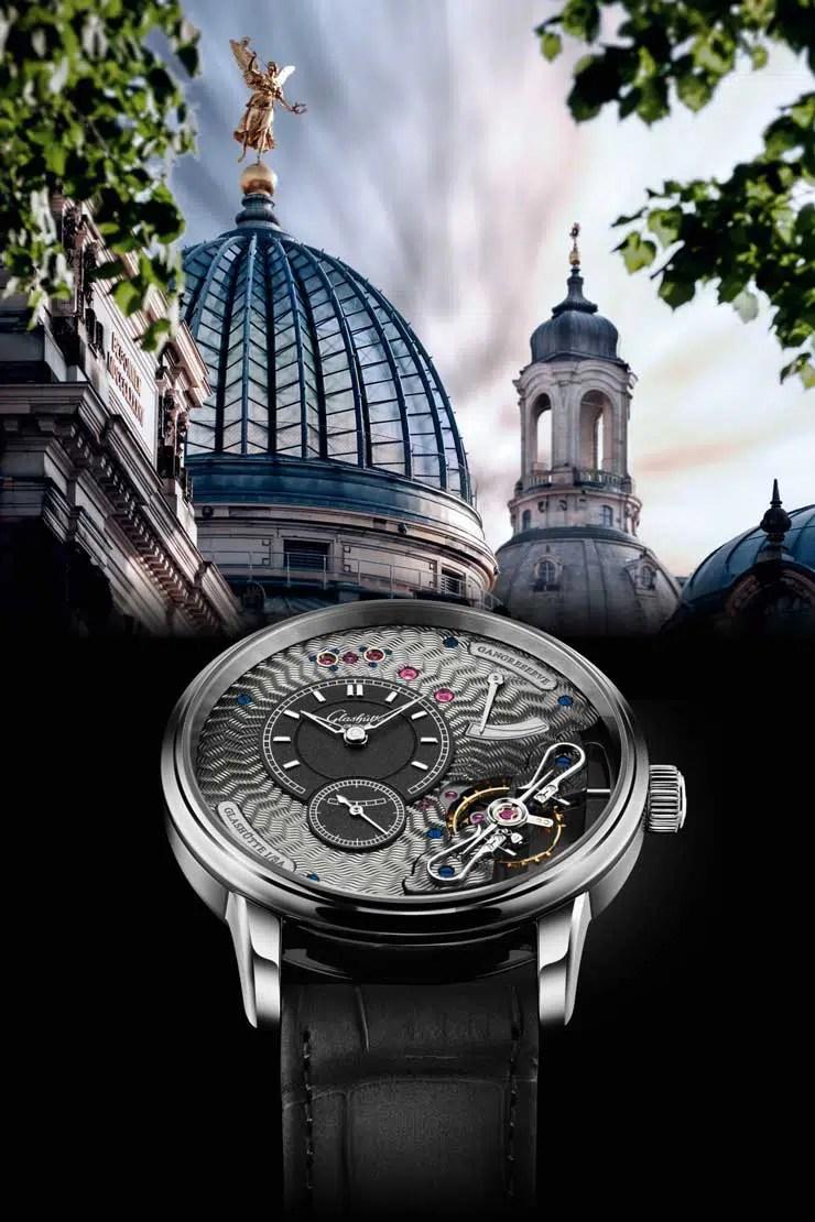 740.6 Perspektivwechsel: Die Schönheit des Uhrwerks wird auf der Vorderseite der Uhr präsentiert
