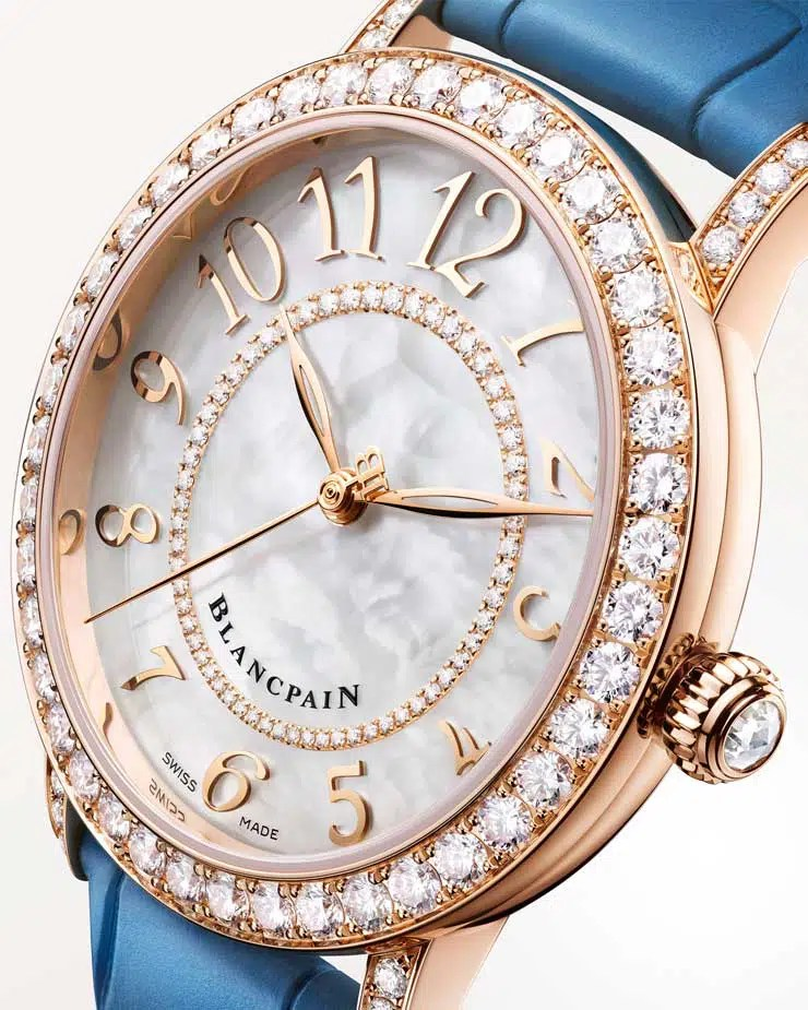 740.1 Die neue Blancpain Ladybird Colors ist eine ebenso zierliche wie farbenfrohe Damenuhr. Sie ist nicht nur in sieben Variationen erhältlich, sondern auch eine Hommage an ein Meisterwerk in der Geschichte der Uhrenmanufaktur Blancpain.