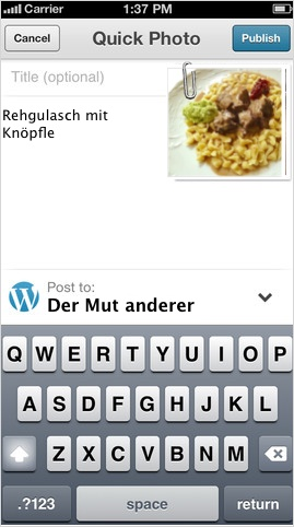 WP for iOS version 3.6