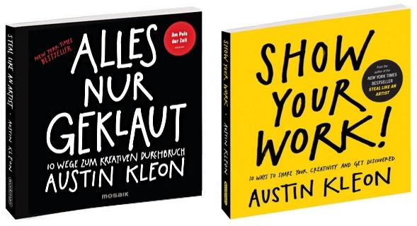 Zwei aus Texas: Austin Kleon Bücher