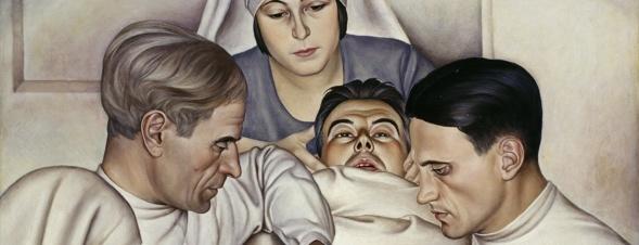 Christian Schad, Operation, 1929 (Ausschnitt)