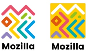"Mozilla Logo ""Connected"""