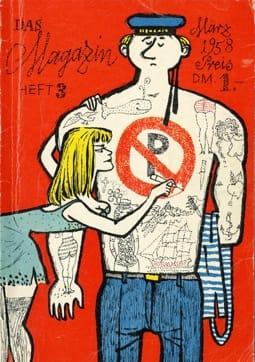 Das Magazin,Heft 3, März 1958