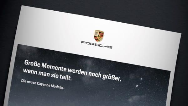 """Meta Design hat zusammen mit Type Tailor die neue Schrift """"Porsche Next"""" entwickelt"""