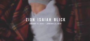 Un film bouleversant sur Zion, ce bebe qui n'a vecu que 10 jours