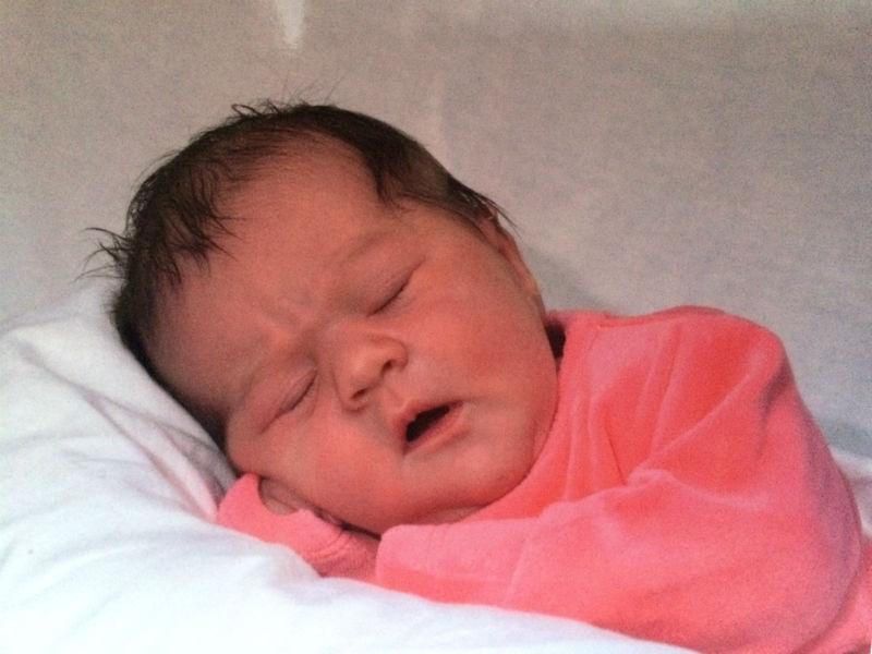 Inès, née le 10 octobre 2014
